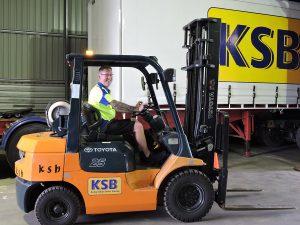 KSB forklift licensing