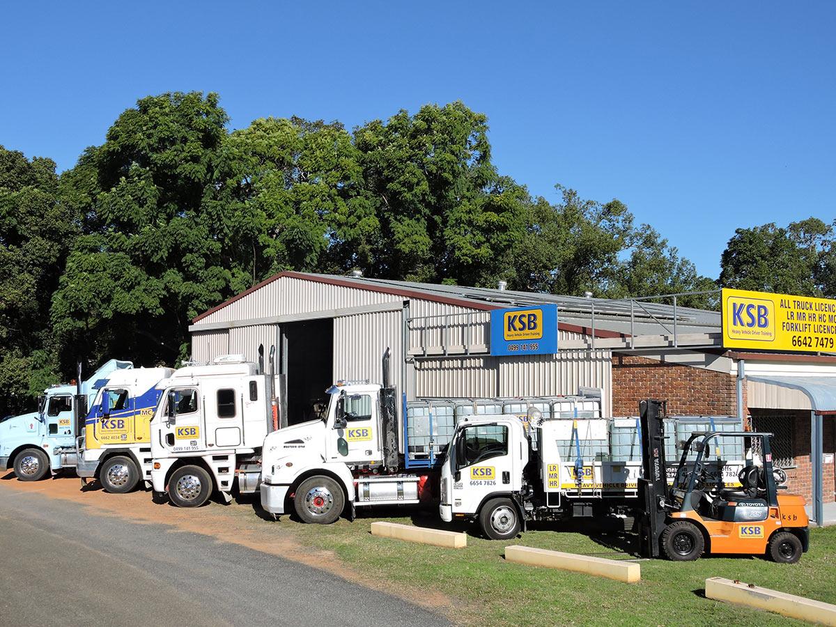 KSB heavy vehicle training
