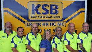 KSB driver training team