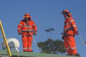 KSB working safely at heights